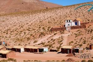 Pueblo Machuca en Chile