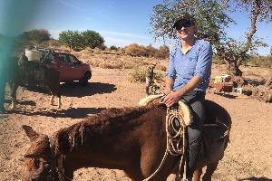randonnée à cheval dans le désert d'Atacama