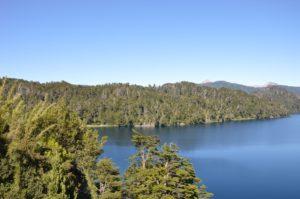 la route des 7 lacs en Argentin