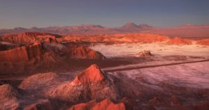 Vallée de la lune, Chili