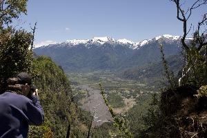 réserve national Villarrica Sollipulli mauricio ibarra