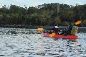 kayak en Patagonie