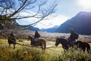 Balade à cheval le long du Brazo Rico