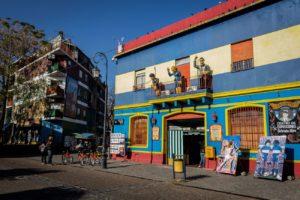 Ruelle à la Boca à Buenos Aires en Argentine