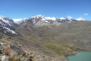 laguna Chiscacalliuani Bolivie