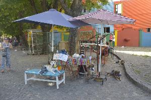 Quartier San Telmo à Buenos Aires en Argentine