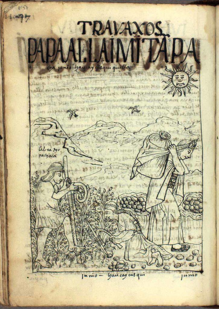 Juin, calendrier Inti Raymi