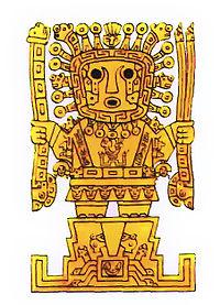 Viracocha est le principal dieu des Incas