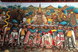 Fresque tlaxcala