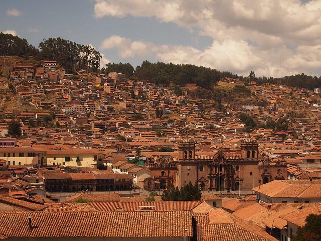 Cusco vue maison