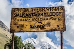 Panneau Salkantay