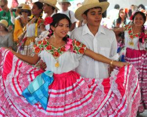 La Guelaguetza est une fête ethnique à Oaxaca