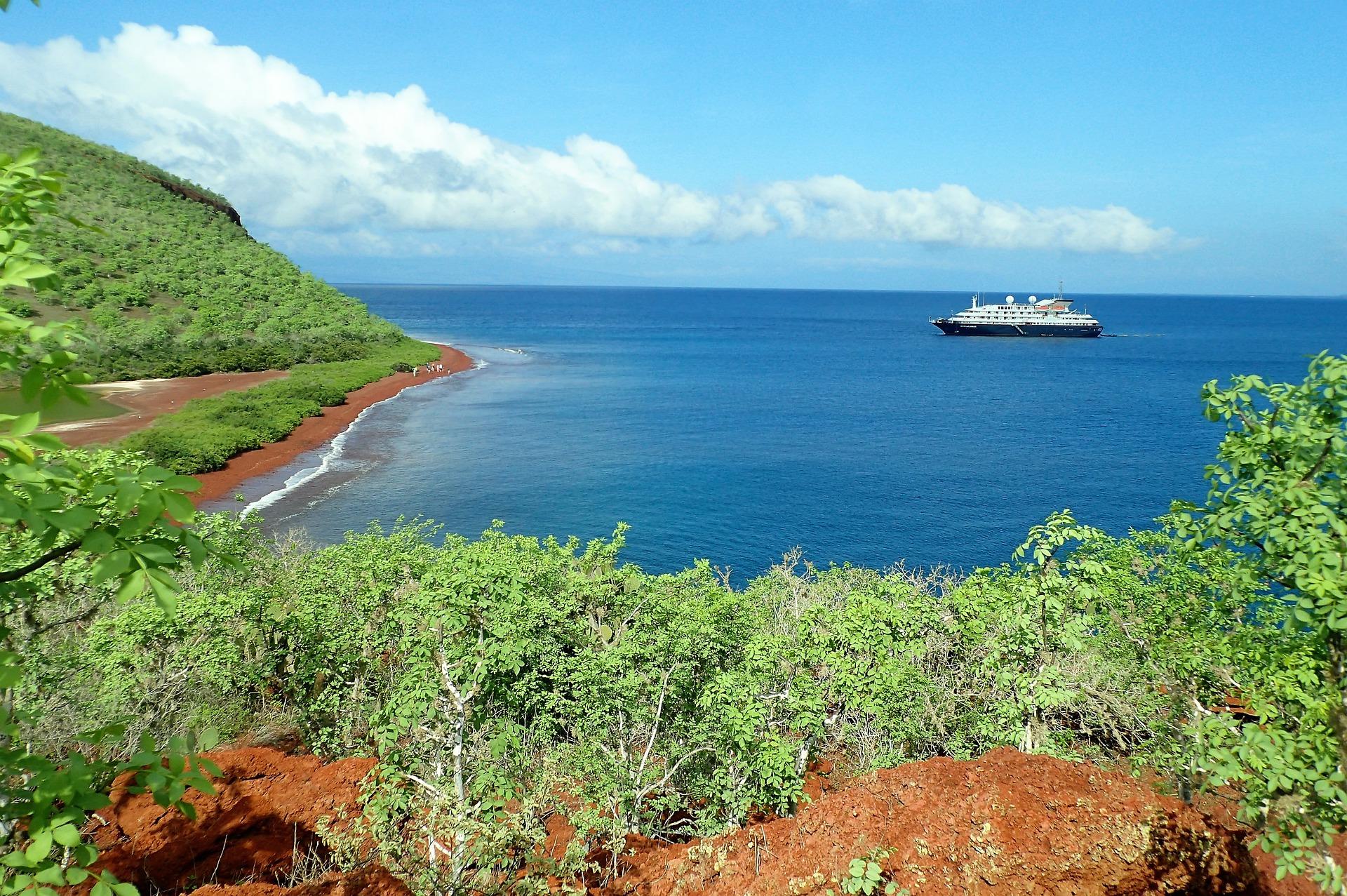 Paysages des Galapagos
