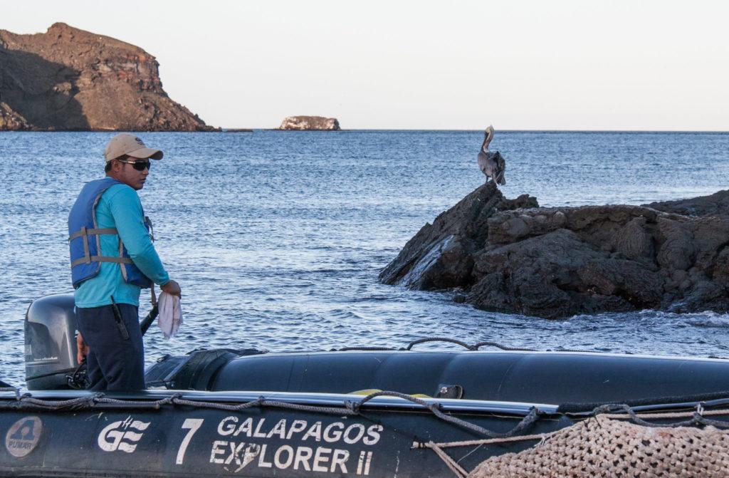 Skiper aux Galapagos