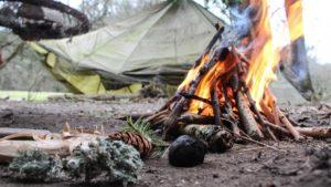 Campement lors du trek pinan en equateur