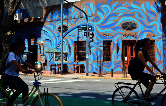 Ballade en vélo en Argentine