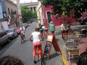 Ballade en vélo électrique à Buenos Aires