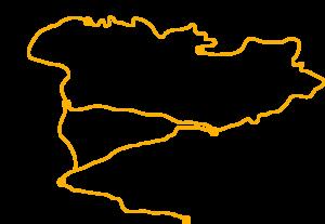 Carte trek Ausangate Pérou