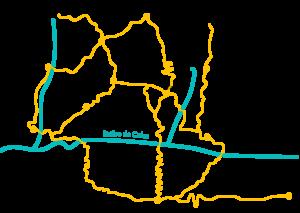 carte trek Colca Pérou