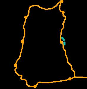 Carte trek Cordillère Blanche 5 treks à faire au Pérou