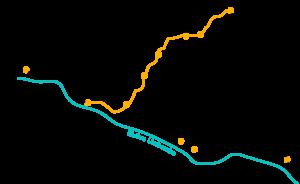 carte trek de Lares Pérou 5 treks à faire au Pérou