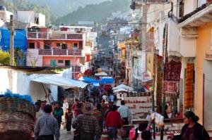 Marché de Chichicastenango