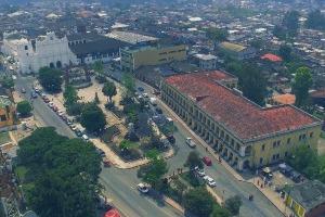 Ville de Coban au Guatemala