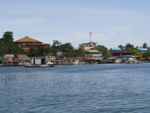Livingston au Guatemala