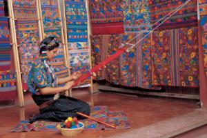 Atelier de tissage - Guatemala