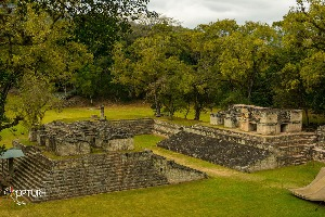 Ruine de Copan au Honduras