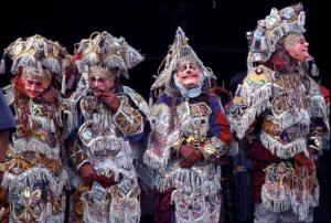 Costumes traditionnels à Chichicastenango