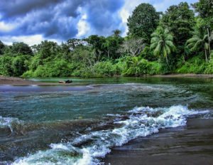 Plage au Costa Rica