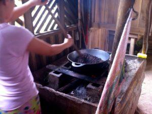 Préparation du cacao
