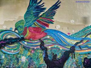 Quetzal fresque