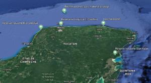 carte-avec-repères-réserves-naturelles-yucatán