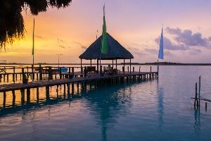 coucher-du-soleil-lagune-bacalar