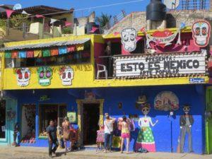 Les maisons colorées de Mexico