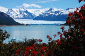 Grimper à Cerro Calafate en face du Lago Argentino