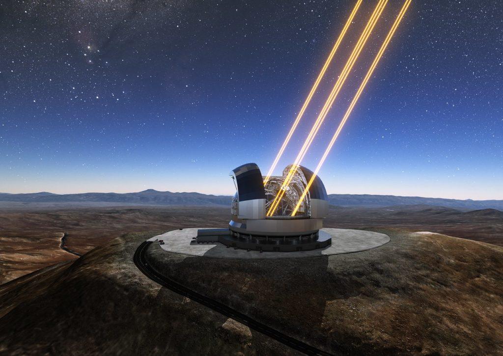 Observatoire : Extremely Large Telescope
