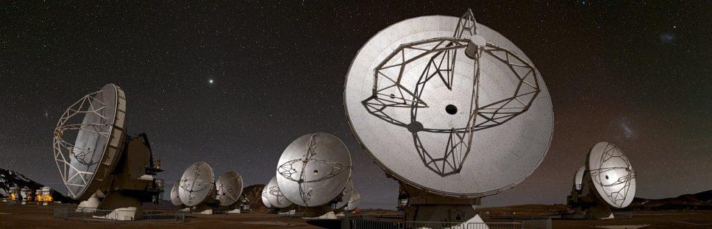 Observatoire de l'ALMA au Chili
