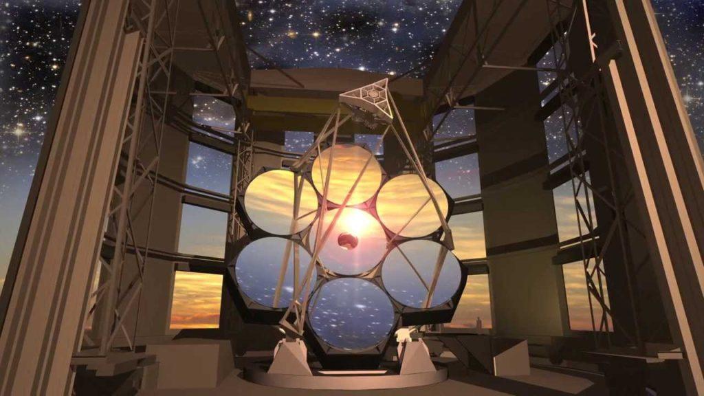 Observatoire Giant Magellan Telescope au Chili