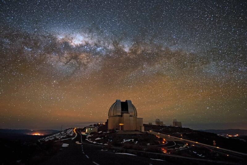 Observatoire astronomique andin au Chili