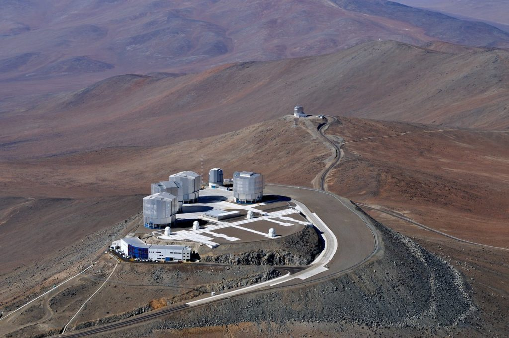 Observatoire : Very Large Telescope