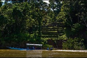 Yaxchilan-rivière-bateau-chiapas-cité-communauté-maya-mexique