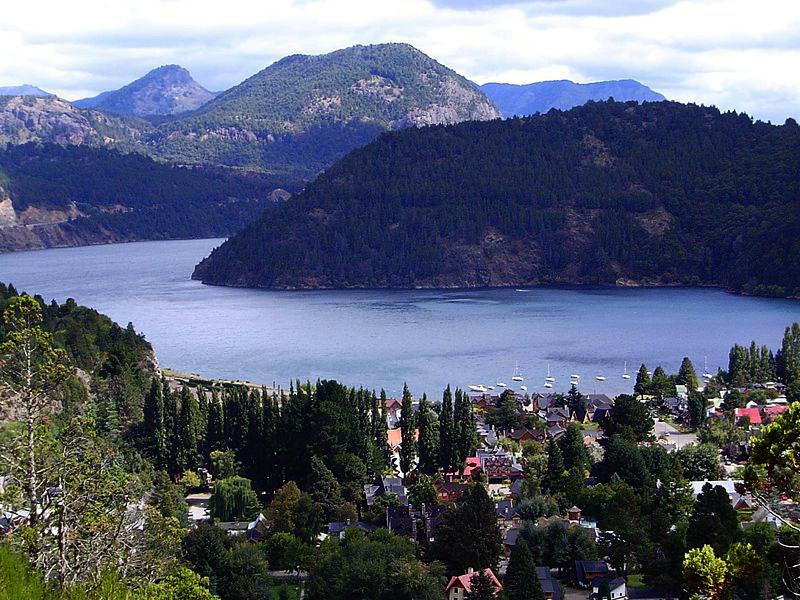 Route des 7 lacs : Lac Lacar