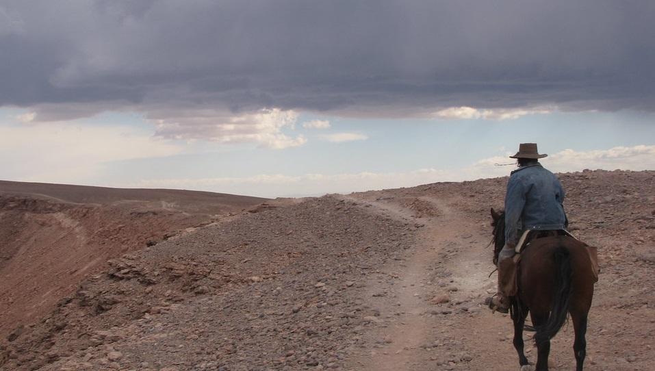Visiter le désert d'Atacama à cheval, Chili.