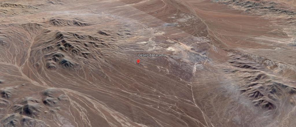 Google Earth - Désert d'Atacama - Lickan Antay