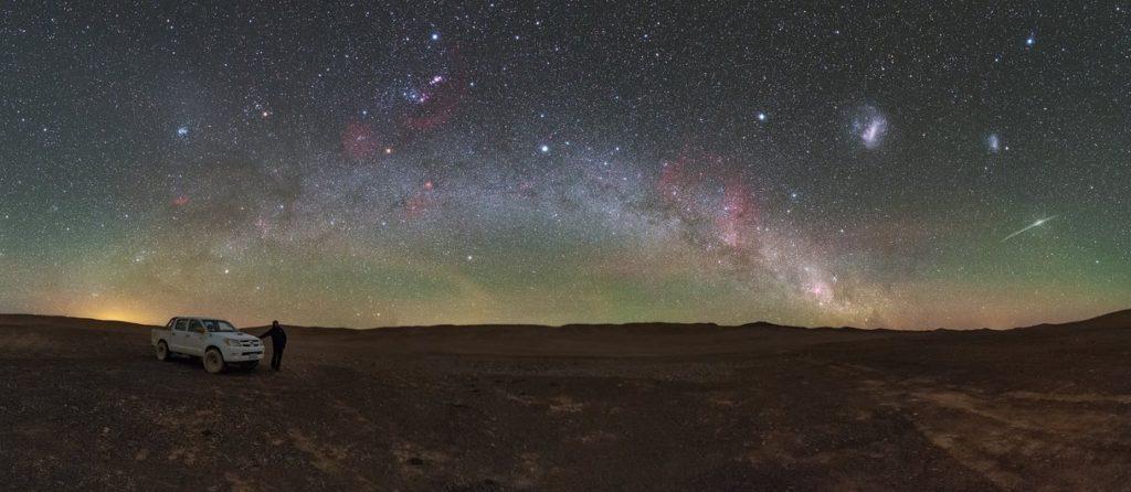 Visiter le désert d'Atacama, Vue sur les étoiles, Chili.