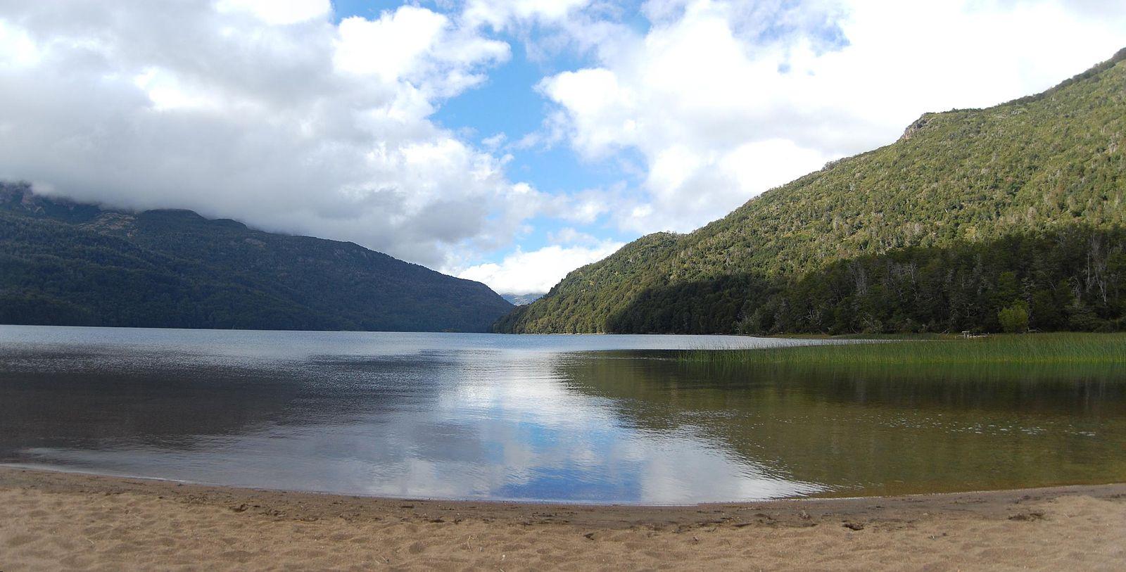 route des 7 lacs : lac falkner