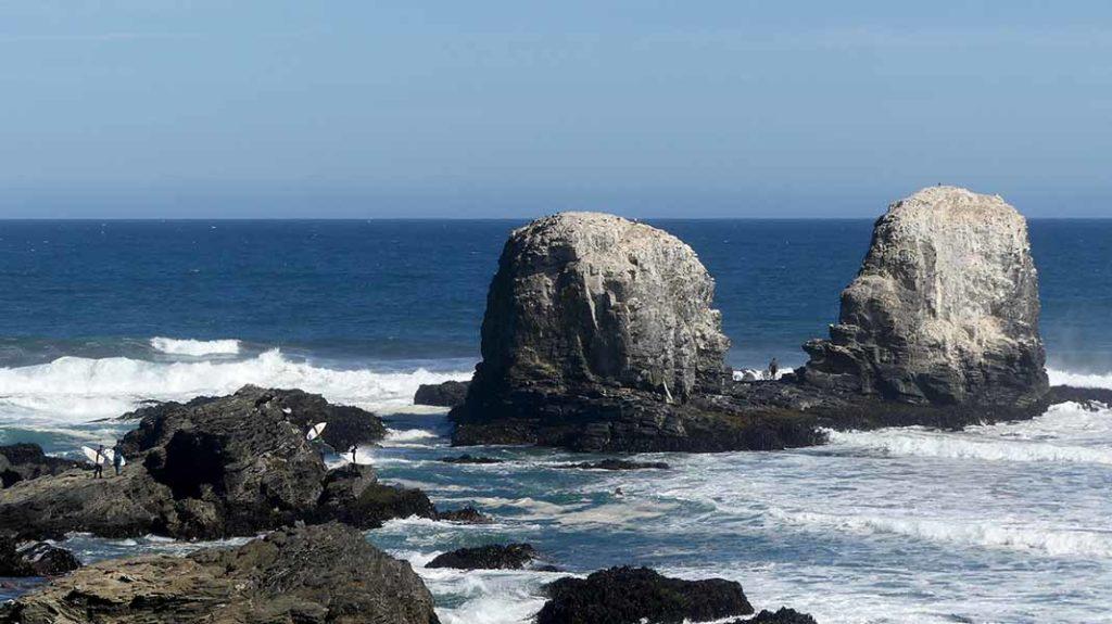 Los Morros, spot de surf au Chili - Punta de Lobos